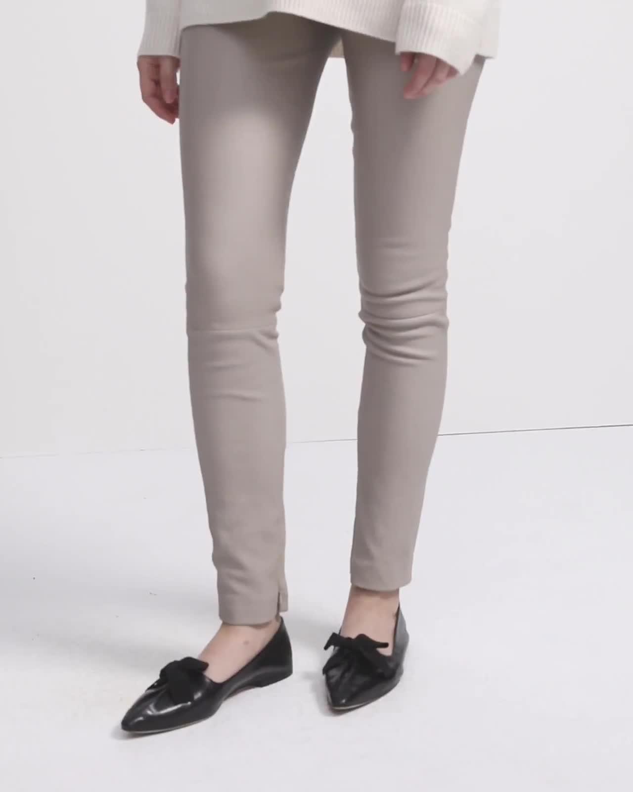 Skinny Legging in Leather