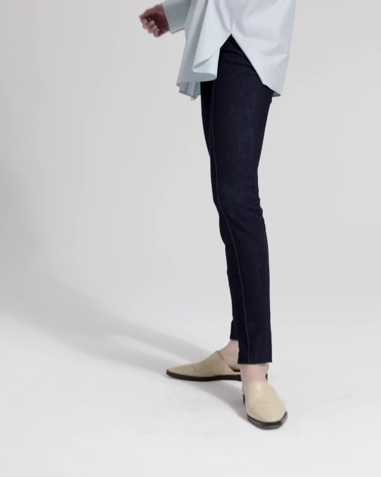 Skinny Denim Legging