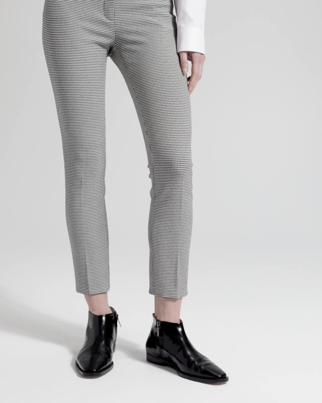 Houndstooth Classic Skinny Trouser