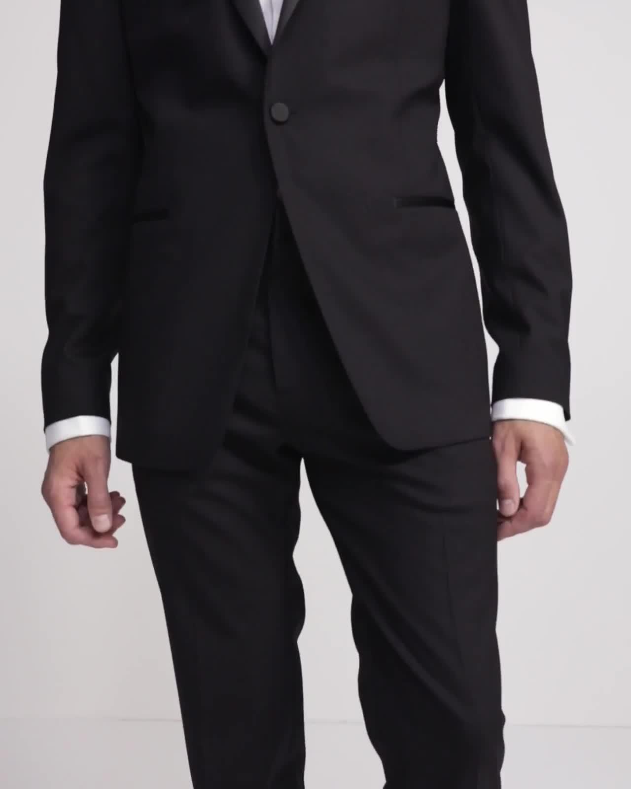 Wool Mayer Tuxedo Pant