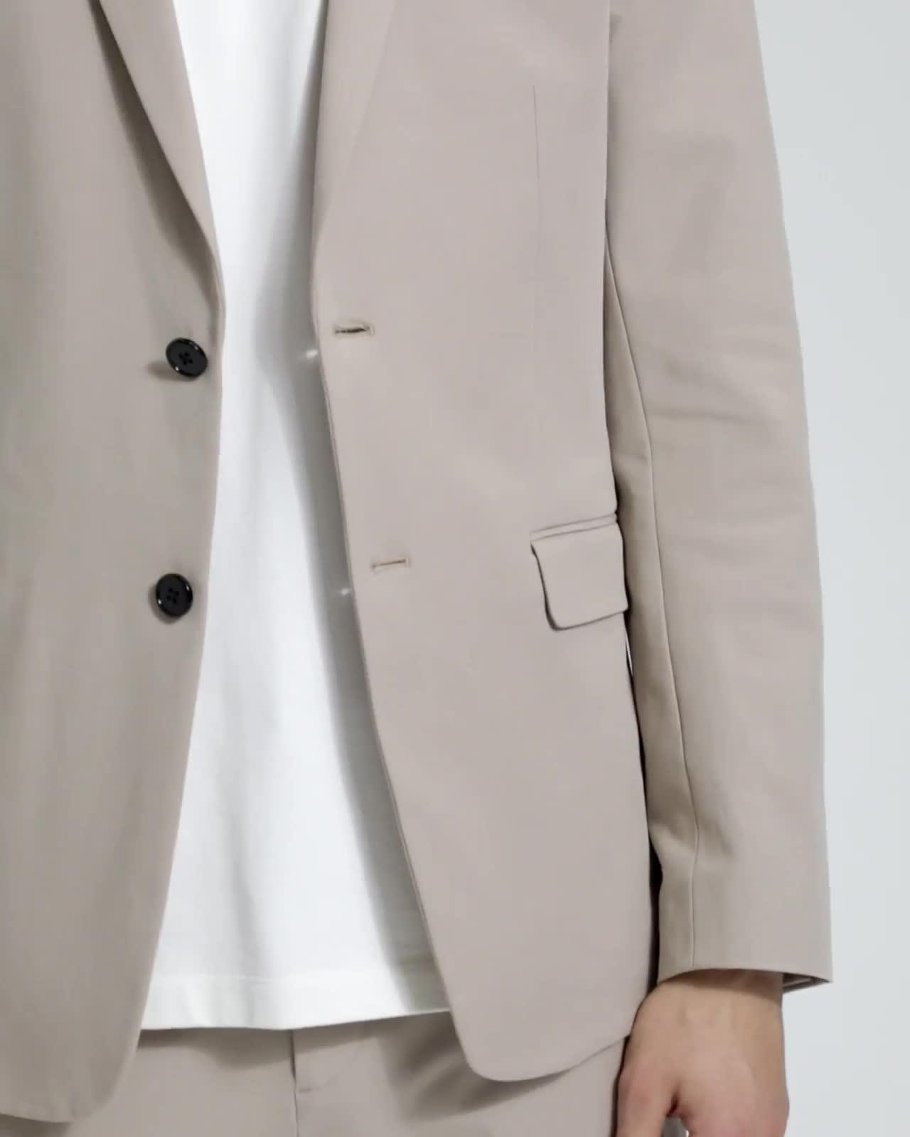 Double Stretch Cotton Clinton Jacket