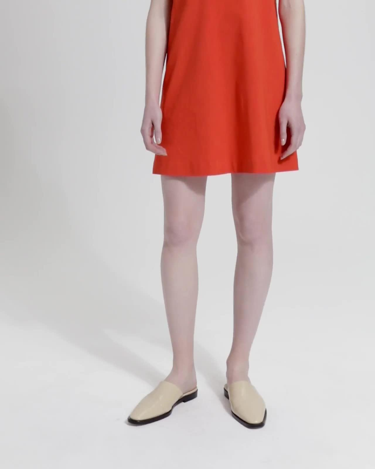 Good Linen Panel Shift Dress