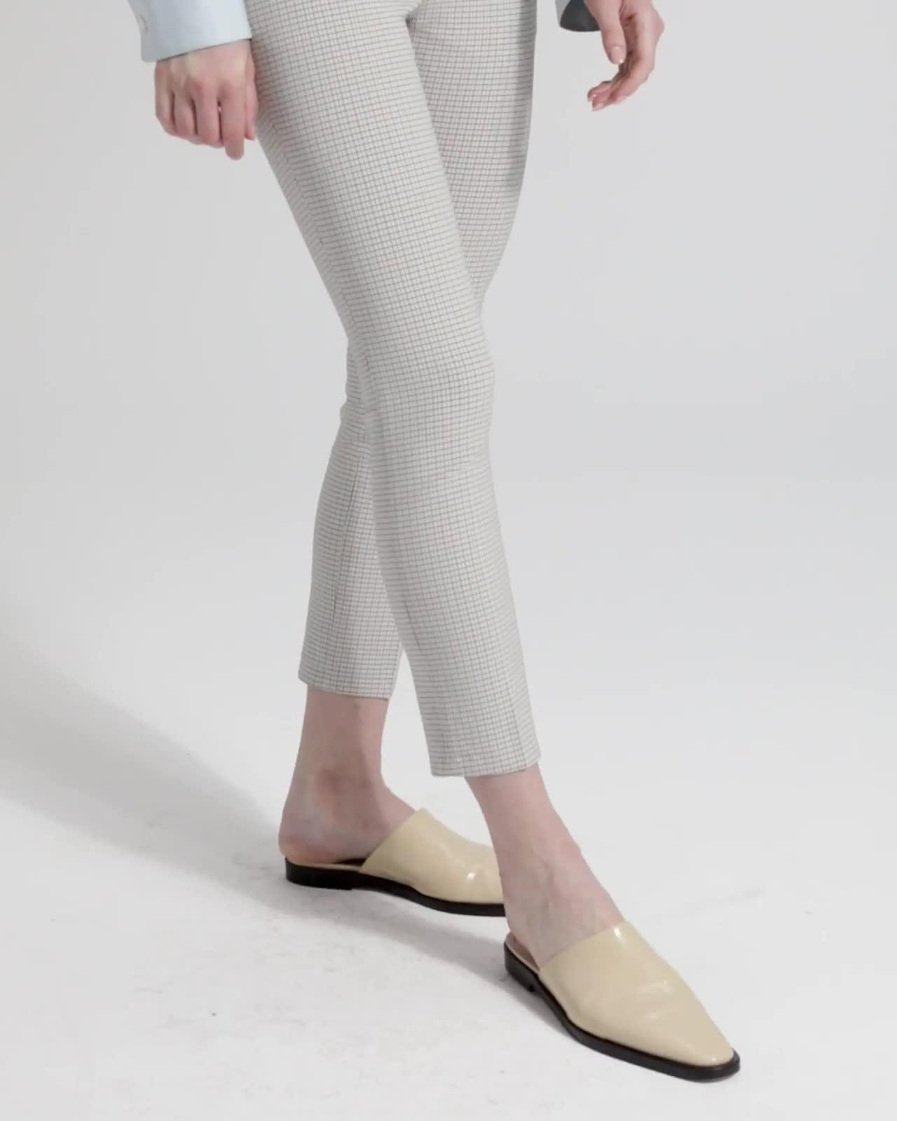 Plaid Classic Skinny Trouser