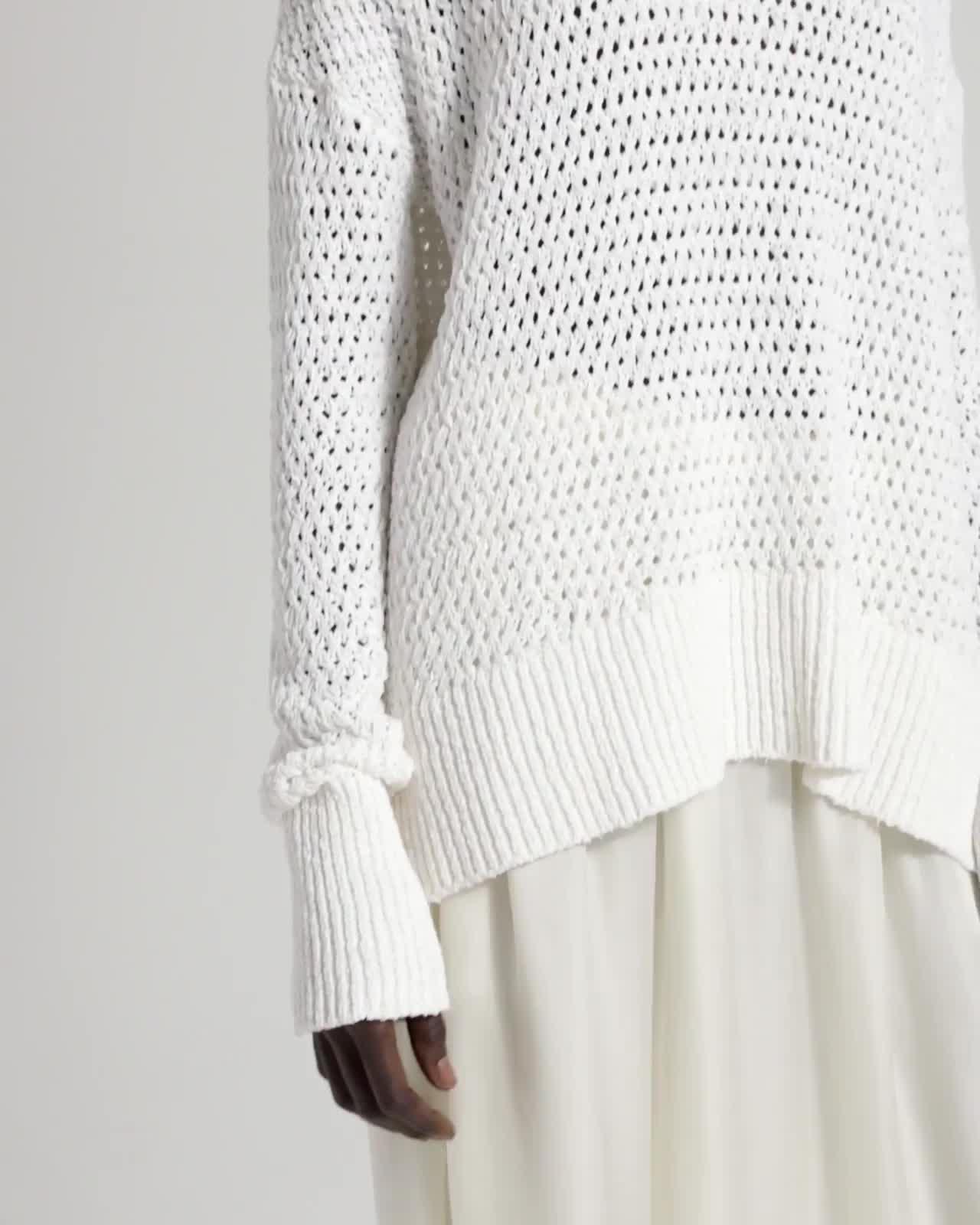 Cotton Nylon Karenia Sweater