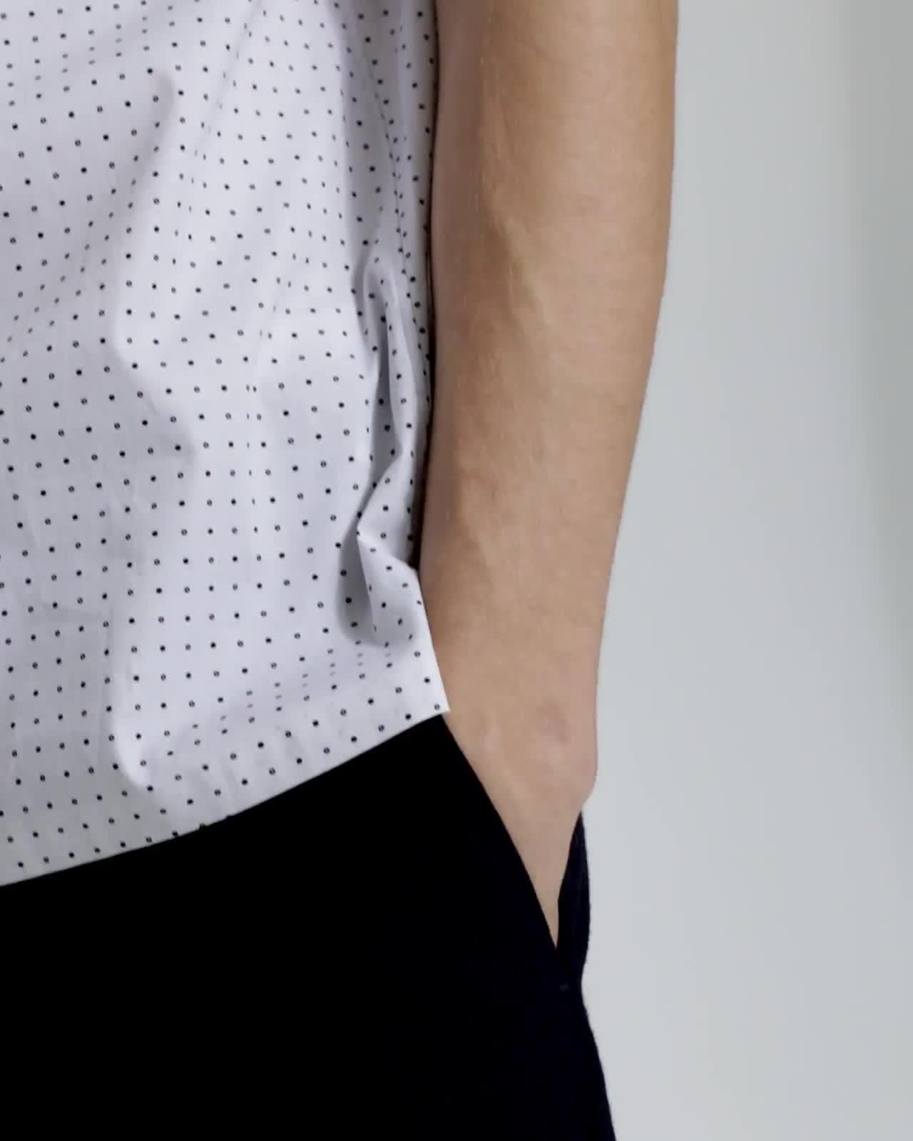 Sphere Print Irving Shirt