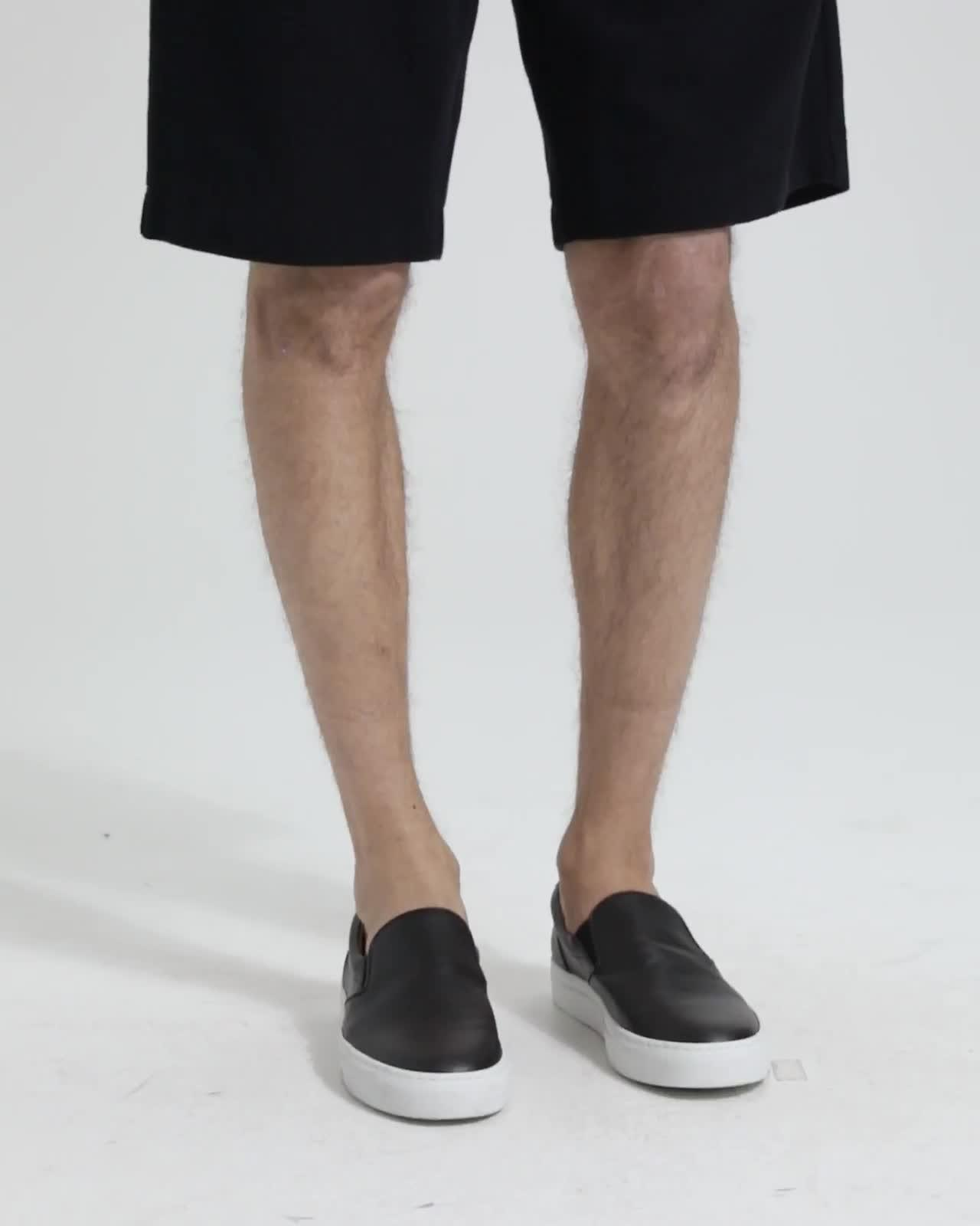 Cotton Terry Relaxed Sweatshort