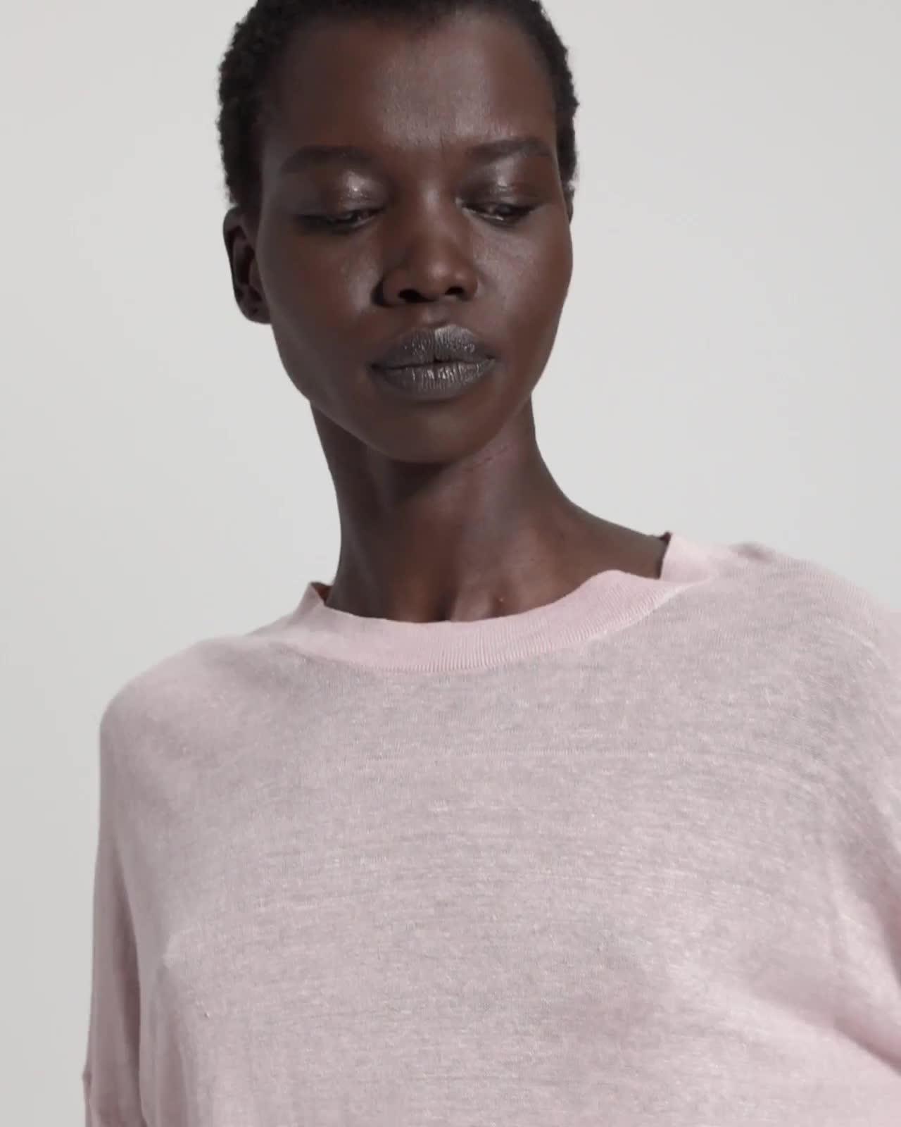 Linen Blend Karenia Sweater