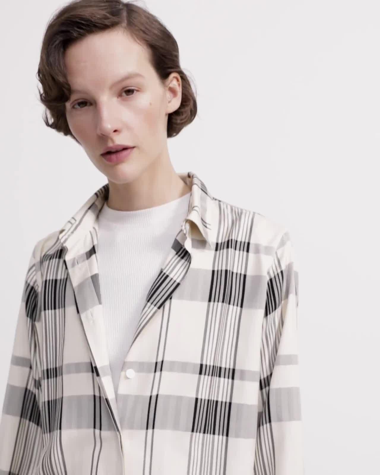 Plaid Menswear Shirt