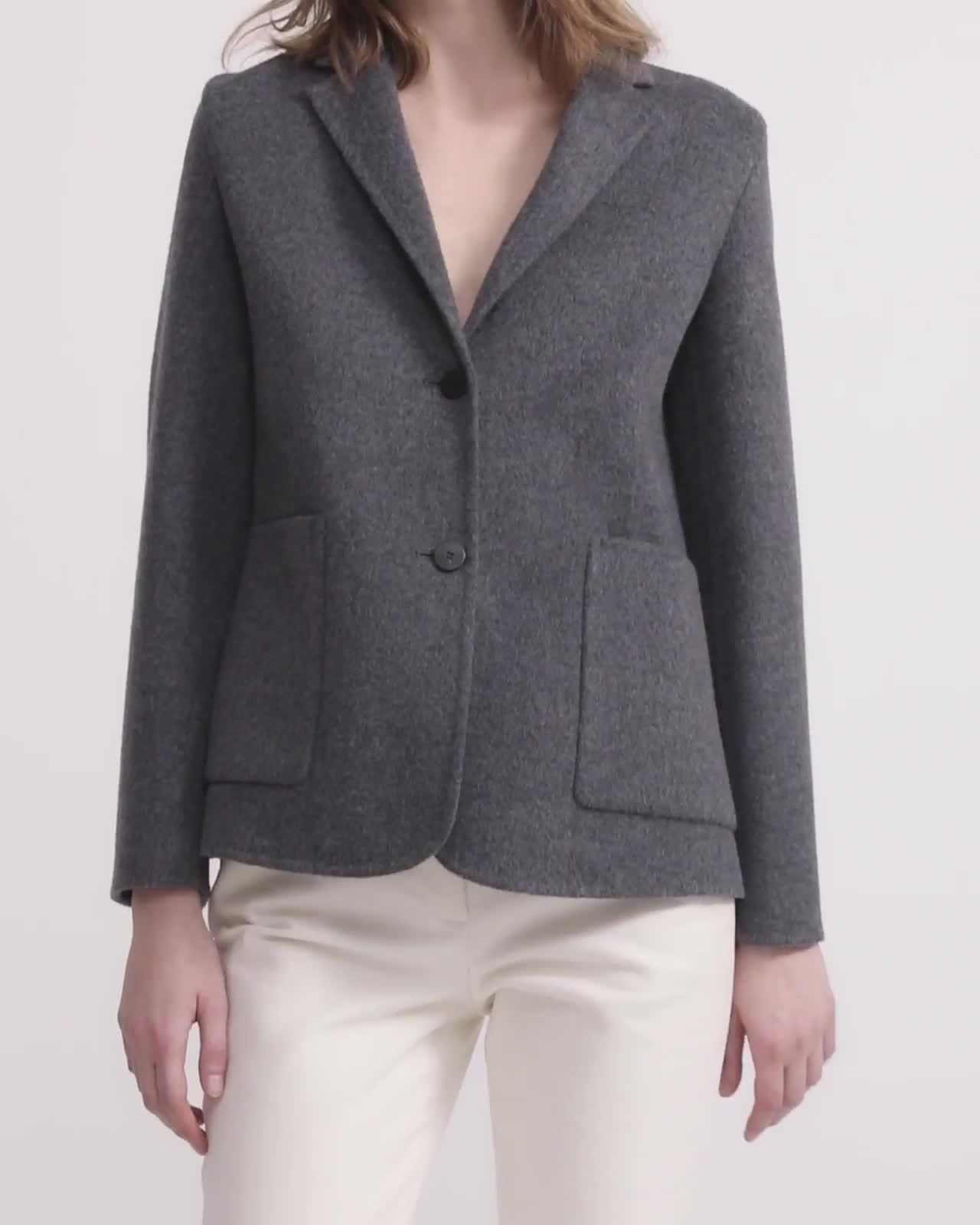 Double-Faced Shrunken Blazer