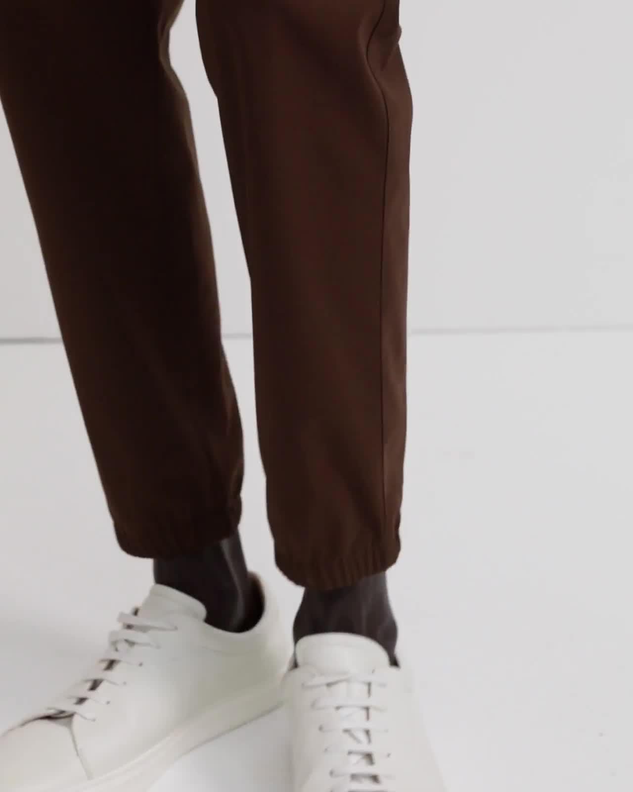 Stretch Wool Skiv Pant