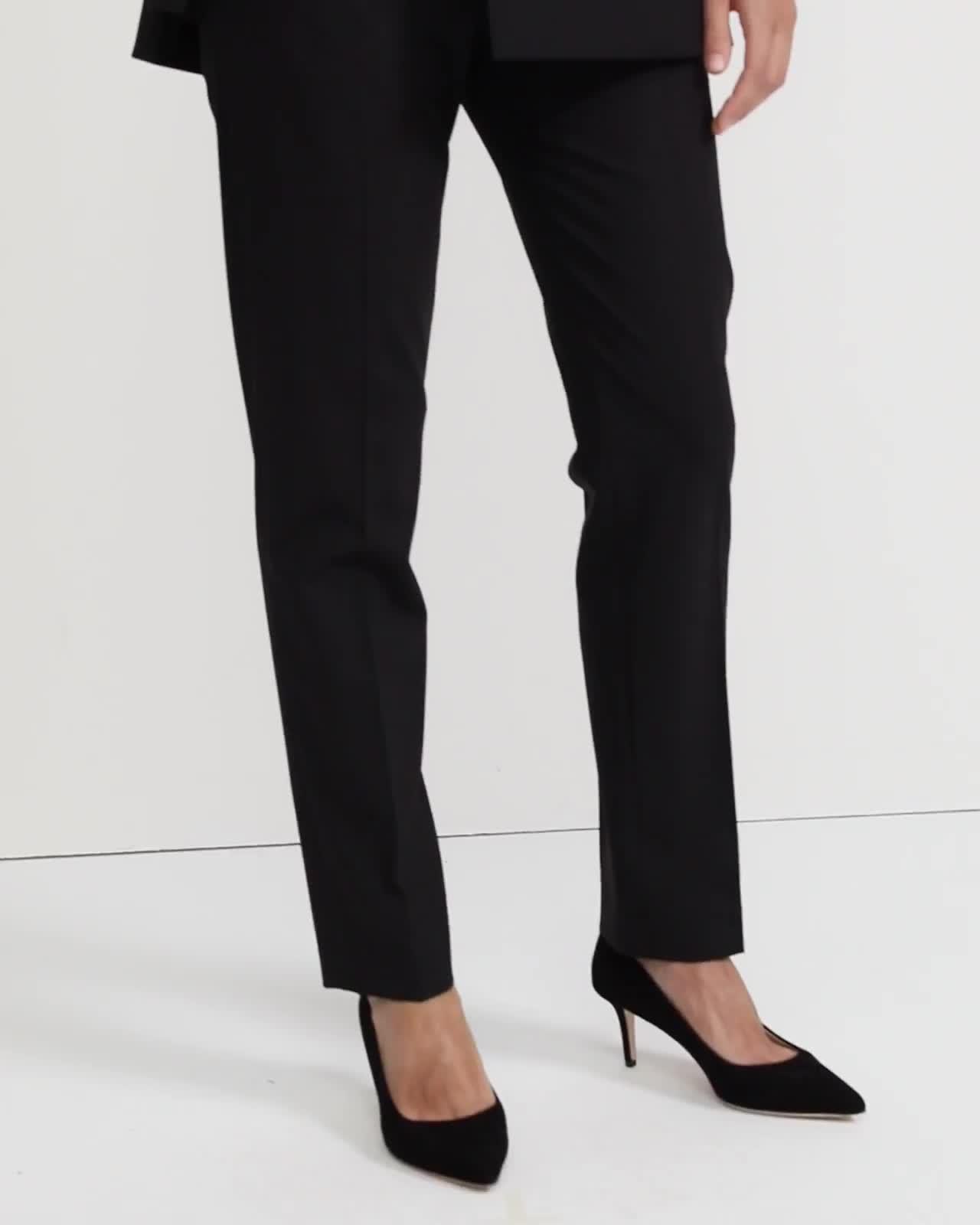 Treeca Full Length Pant in Good Wool