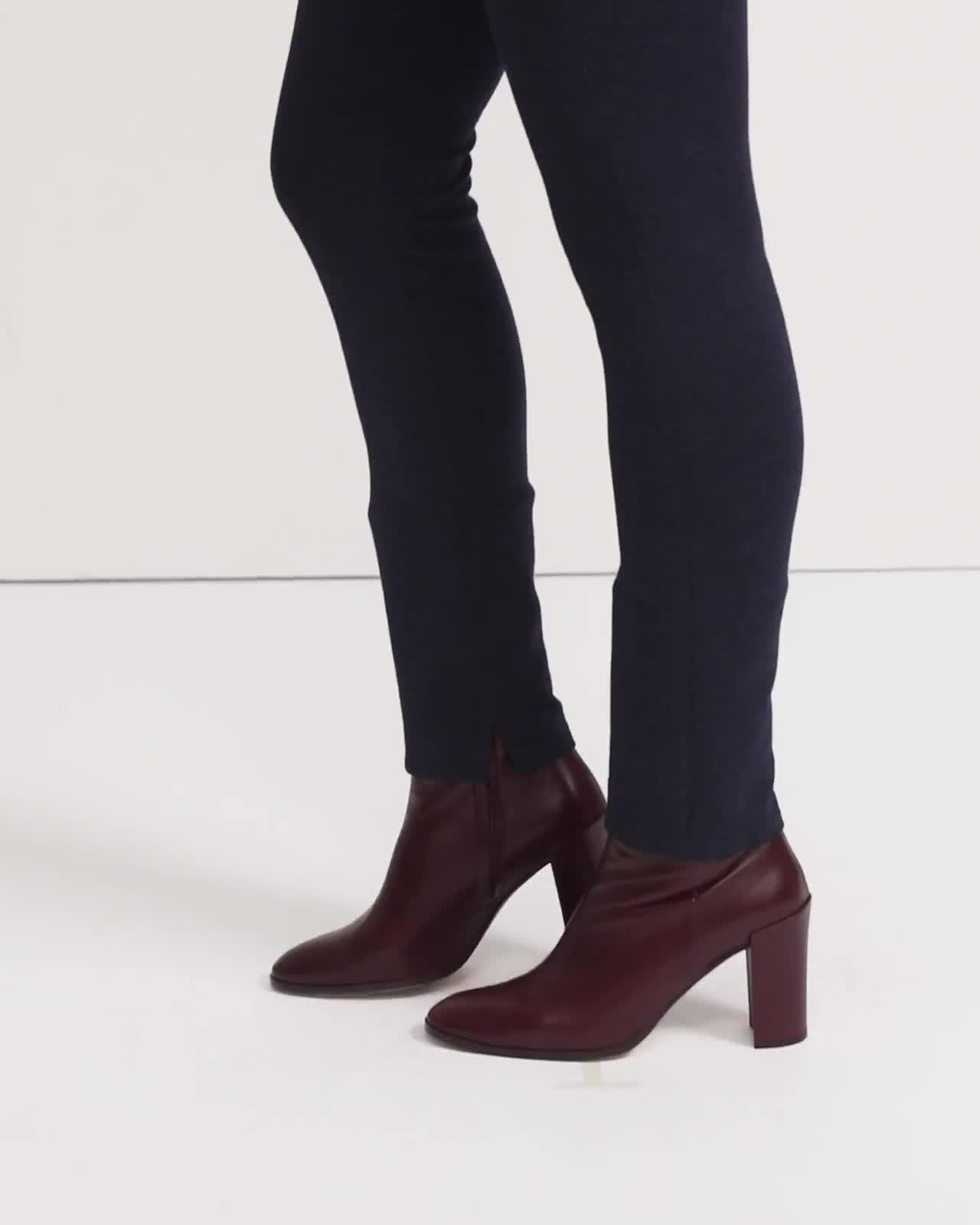 Skinny Legging in Double Knit Jersey