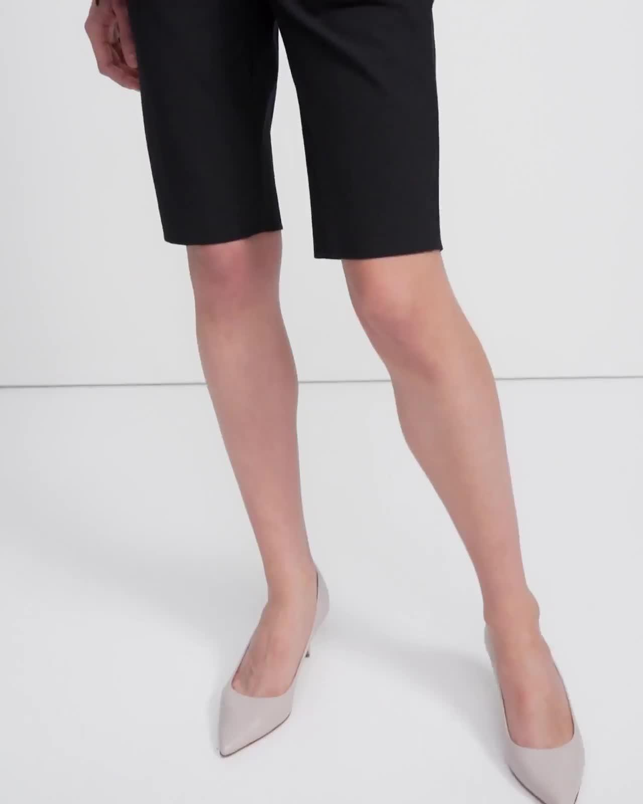 Treeca Short in Eco Stretch Cotton