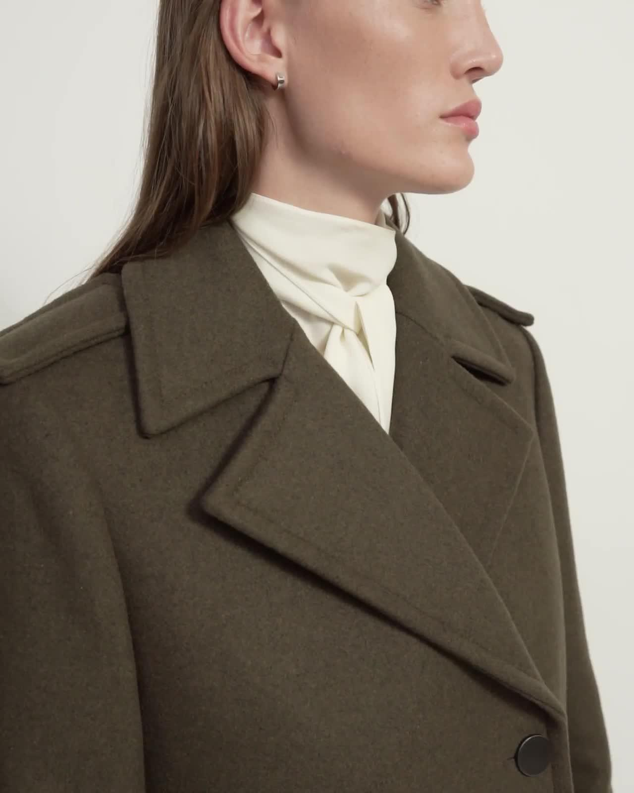 Sargent Coat in Recycled Wool