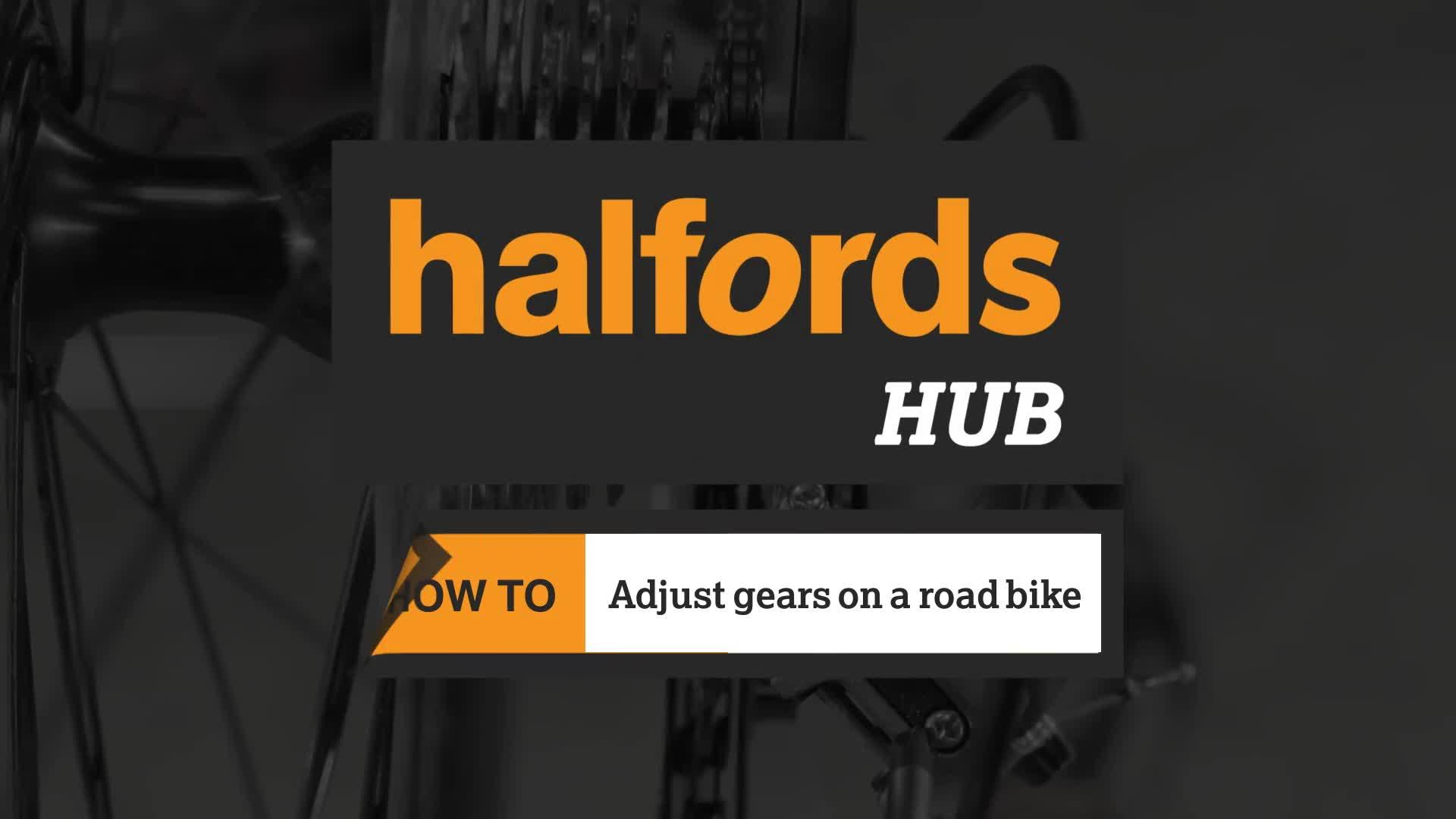 How to adjust bike gears | Halfords