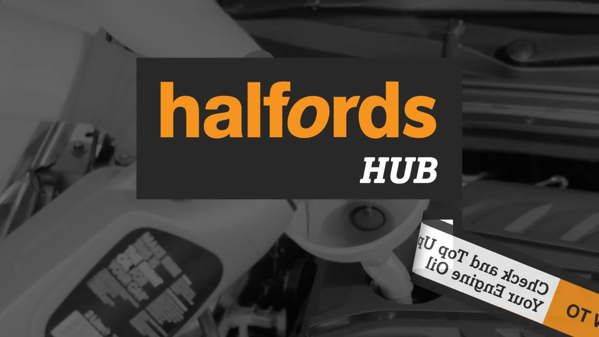 How to check your engine oil and put oil in your car | Halfords