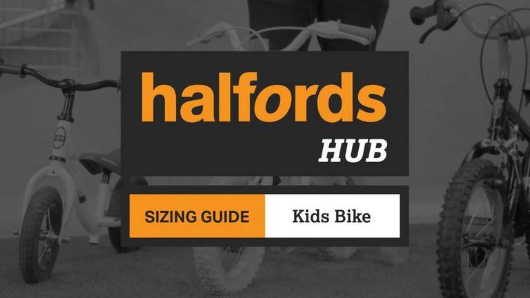 Kids Bike Size Guide Kids Bike Size Charts Halfords