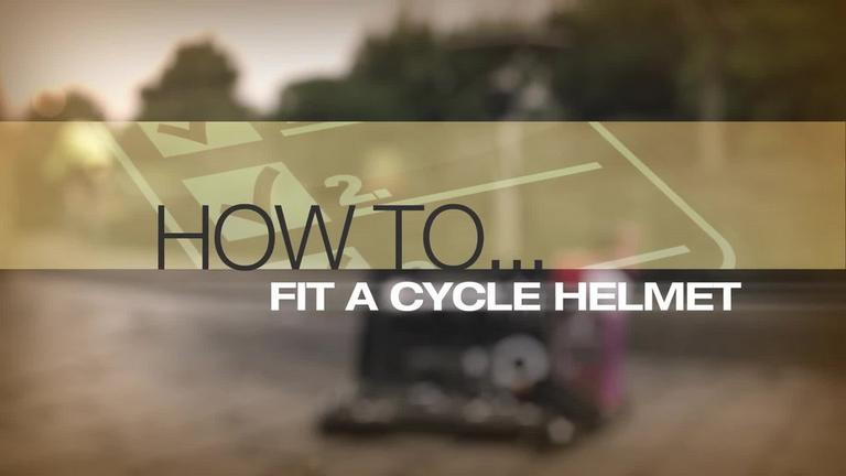Image for Video - How to Fit a Cycle Helmet article