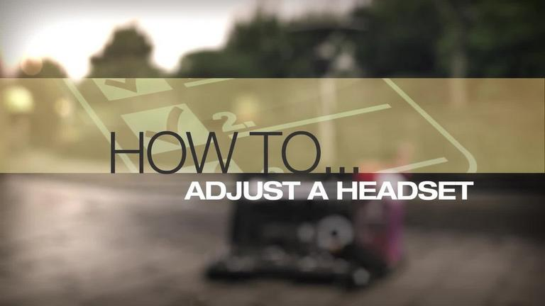 Image for Video - How to Adjust A Headset article