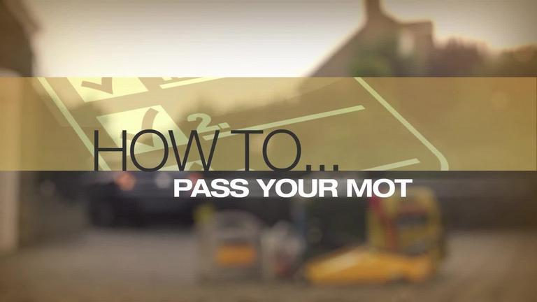 Image for How to Pass your MOT Guide + Video article