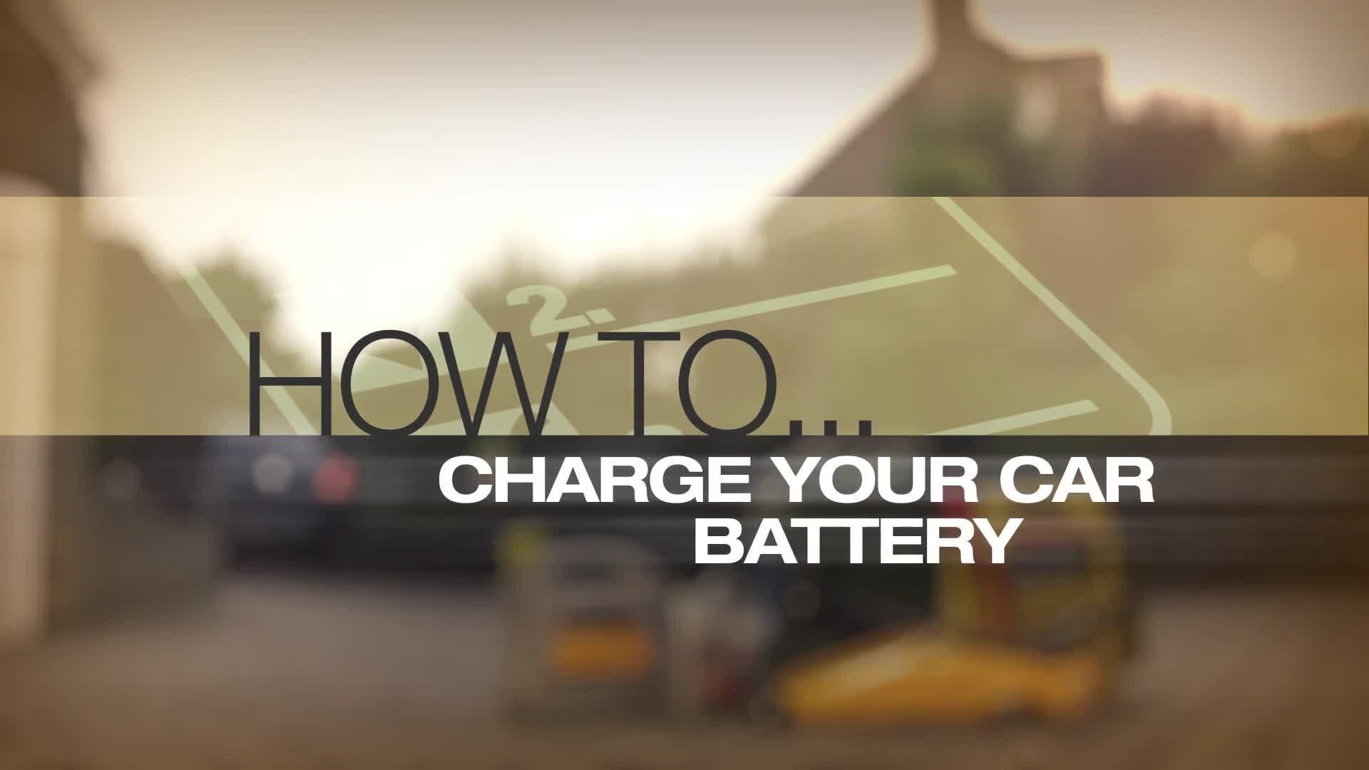 How to Charge a Car Battery Guide | Halfords Advice Centre