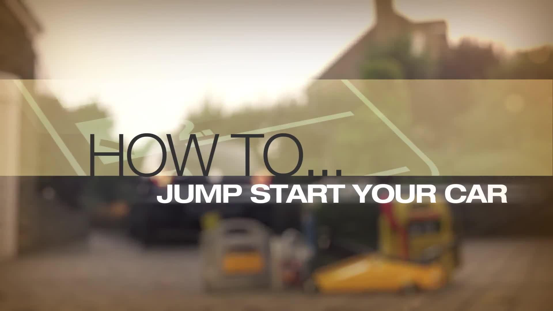 Help Amp Advice How To Jump Start A Car Guide Video