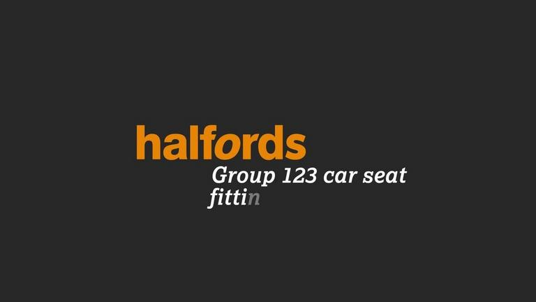 Image for Halfords Group 123 Child Car Seat Fitting Instructions article