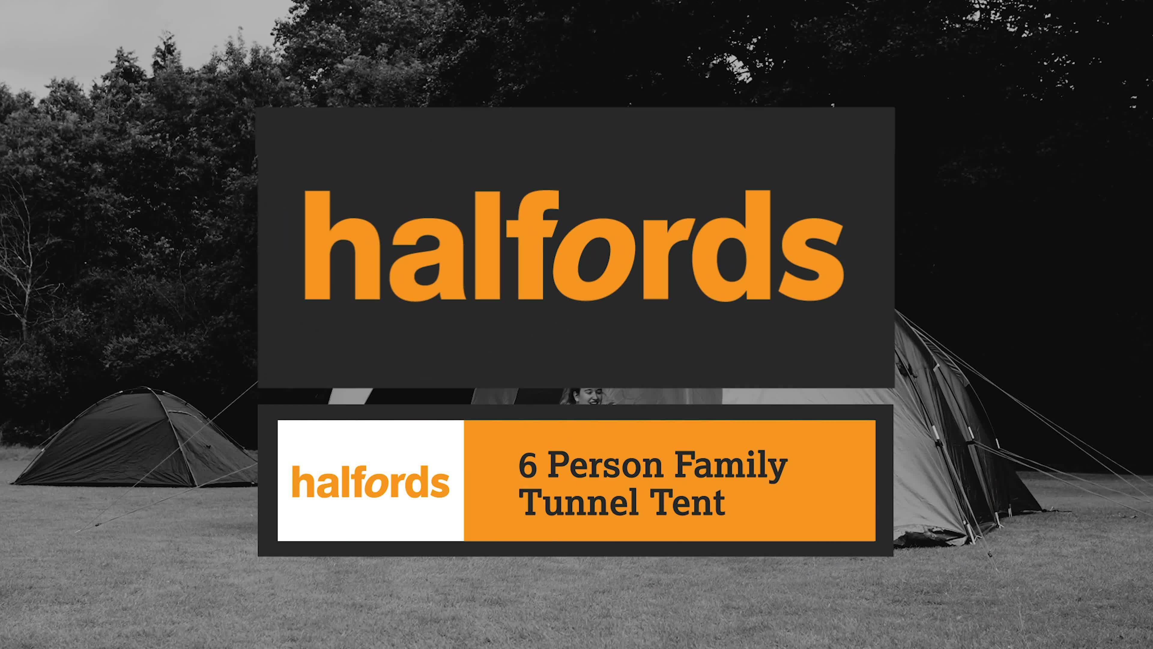 Halfords 6 Man Tent Amp Tent Pop Up Tent Tents For Sale C