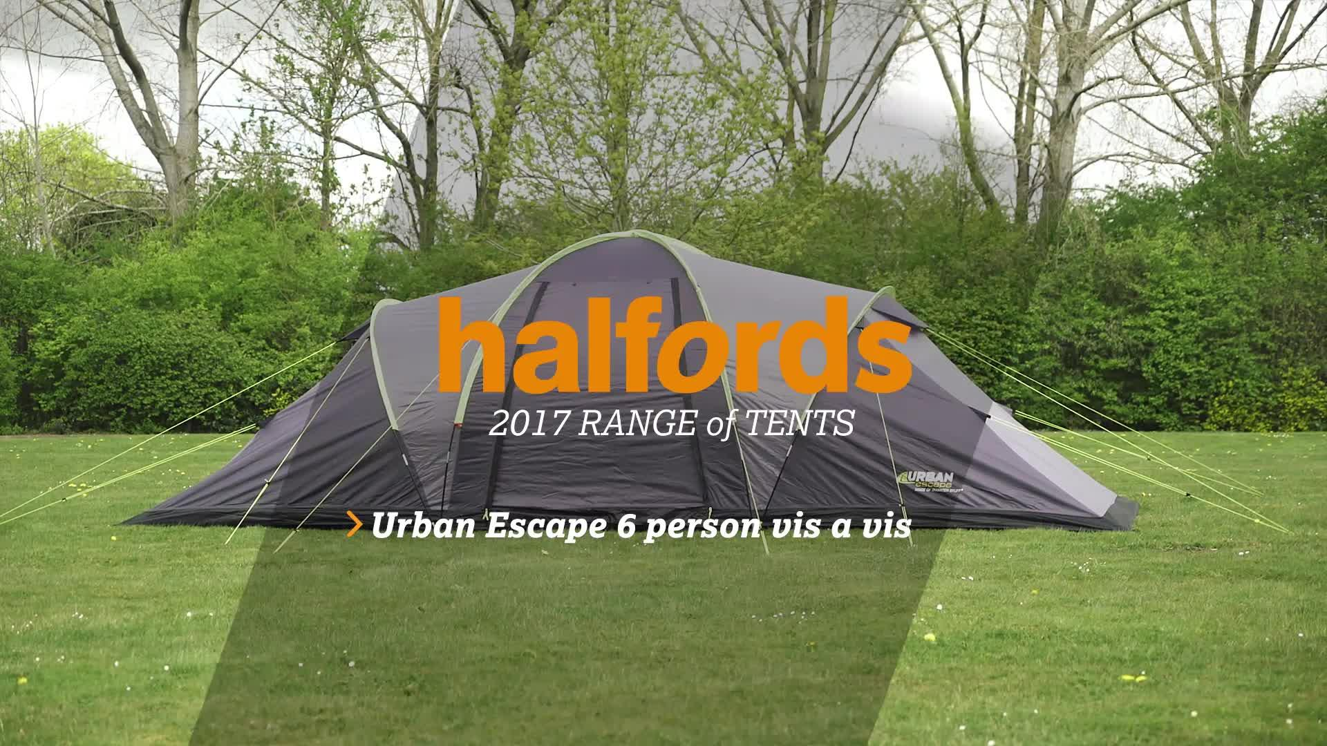 & Urban Escape 6 Man Vis A Vis Tent