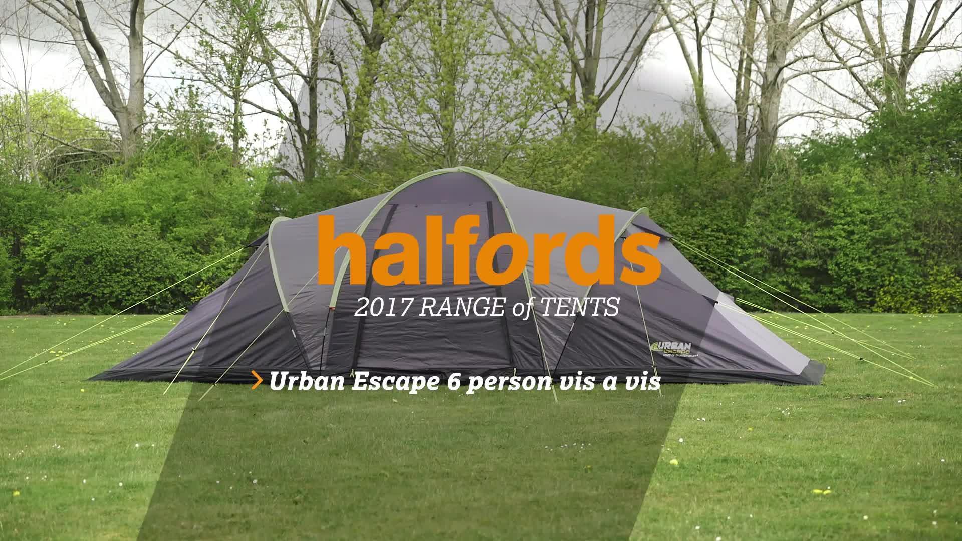 & Urban Escape 6 Man Vis A Vis Tent