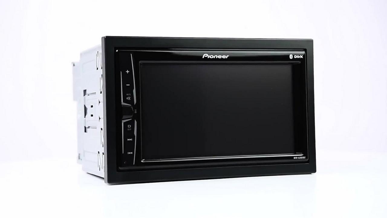 Pioneer Mvh A200vbt Touch Screen Bl Uk Bt Phone Socket Wiring